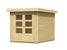 KARIBU drevený domček KARIBU ASKOLA 2 (73059) natur