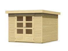 KARIBU drevený domček KARIBU ASKOLA 4 (73061) natur