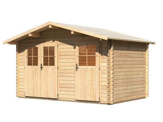 KARIBU dřevěný domek KARIBU RADUR 0 (58395) natur