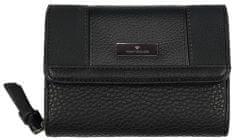 Tom Tailor dámska čierna peňaženka Juna Wallet