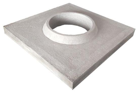 KOMÍNY CZ Komínová krycí deska 540x540 mm - 205 mm pro komín 160 mm