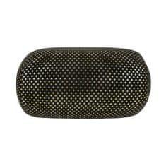 Albi Relaxační polštář černý se zlatými puntíky