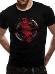 Deadpool Pánské tričko Deadpool - Bad Good Velikost: S