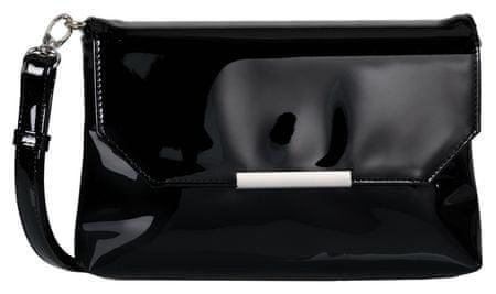 Tom Tailor crossbody ženska torbica Kenza Flapbag, črna