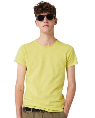 Q/S designed by koszulka męska 40.908.32.5556 L kremowa