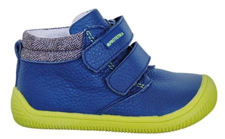 Protetika chlapčenské barefoot topánky Harper 19 modré