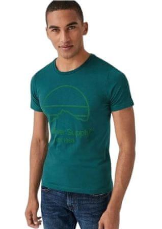 s.Oliver pánské tričko 13.908.32.7653 XXL tyrkysová