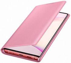Samsung Flipové pouzdro LED View pro Galaxy Note 10, růžová (EF-NN970PPEGWW)