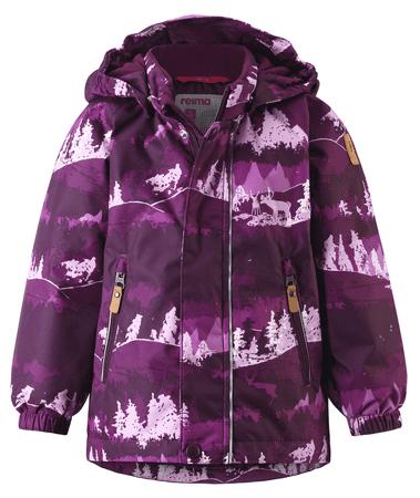 Reima dívčí zimní bunda Ruis 92 fialová
