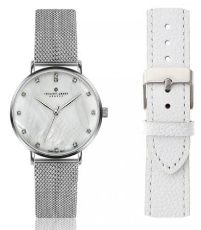 Frederic Graff dámské hodinky se dvěma řemínky FGS017