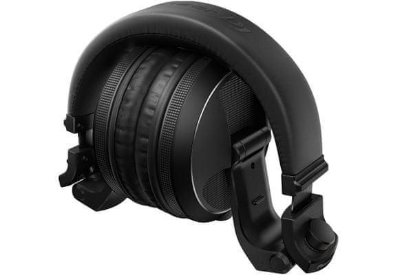 vezetékes profi dj stúdió fejhallgató pioneer hdj-x5 1,2m kábel 3,5 mm jack adapter 6,3 mm torzítás mentes amerikai megterhelési teszt összecsukható