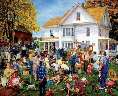 SunsOut Puzzle 1000 db Susan Brabeau - Farmhouse Auction