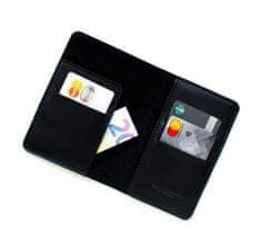 Voyage Kožená cestovní peněženka // LAND (Black)
