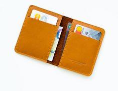 Voyage Kožená peněženka na karty // STAFF (Brown)