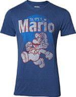 Tričko Super Mario - Super Mario Running Vintage (veľkosť XL)