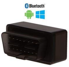 SIXTOL Autodiagnostika SX1 bluetooth černá, Android (zdarma SX OBD aplikace)