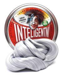 Intelig.plastelína Zářivá stříbrná