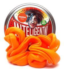 Intelig.plastelína Oranžová