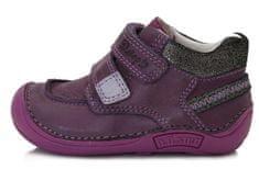 D-D-step dívčí celoroční kotníčková obuv 018-40C