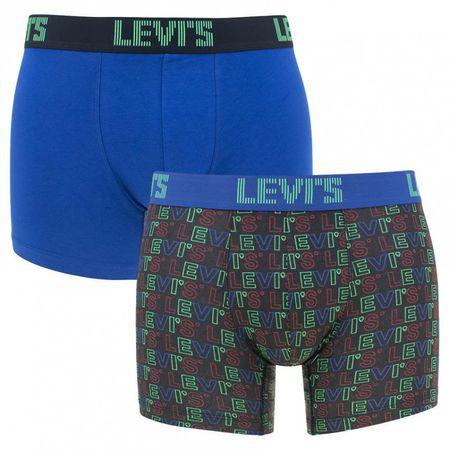 Levis 2PACK pánské boxerky vícebarevné (995058001 261) - velikost L
