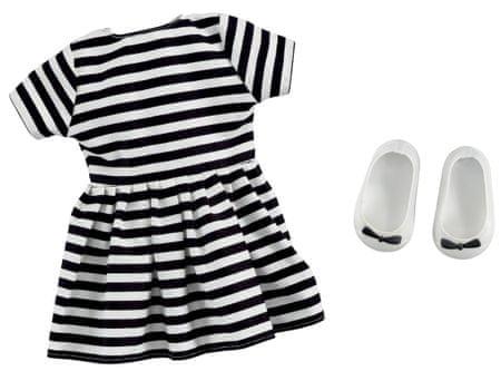 Addo Strój - sukienka w paski dla lalki