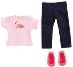 Addo odjeća za lutke, tropska majica i traperice