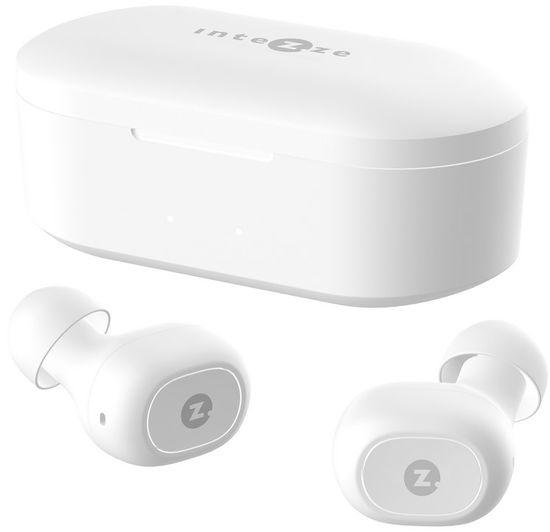 Intezze PIKO bezdrátová sluchátka, bílá - zánovní