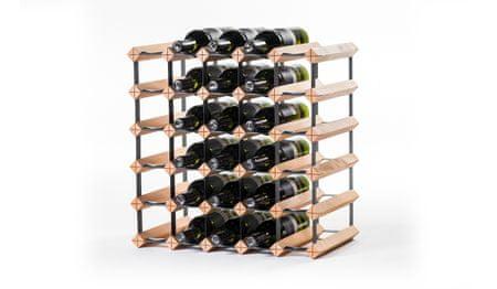 RAXI Stojan na víno s kapacitou 30 lahví