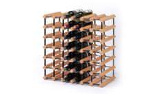 RAXI Stojan na víno s kapacitou 42 lahví