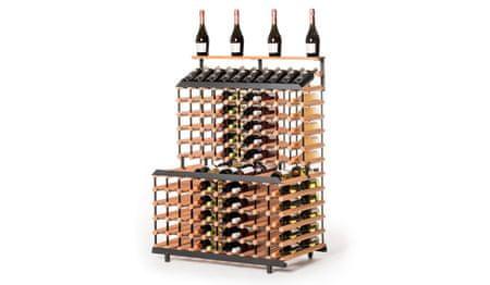 RAXI stojan na víno patrový na 180 lahví