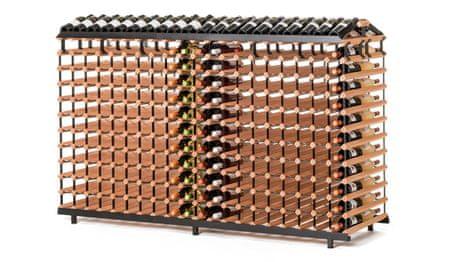 RAXI stojan na víno na 480 lahví, oboustranný
