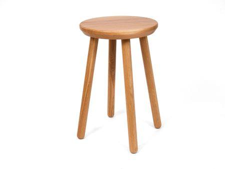 CZECH SHAPE Stolička ke stolu z masivního dubového dřeva