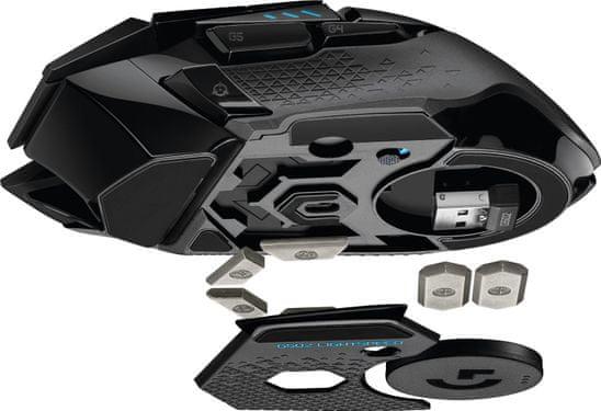 Herní myš Logitech G502 Lightspeed senzor HERO 16K