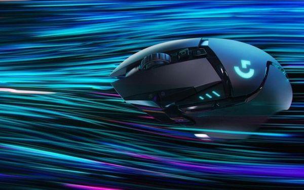 Herní myš Logitech G502 Lightspeed programovatelná tlačítka systém zdvihu