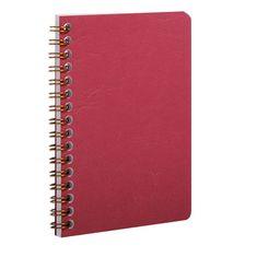 Clairefontaine zvezek s spiralo Age Bag, črtni, 50 listov, rdeč
