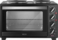 ECG ET 32303 električna pečica, črna