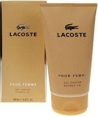 Lacoste Pour Femme gel za prhanje, 150ml