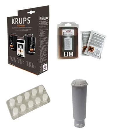 Krups komplet za vzdrževanje aparata za kavo XS530010