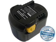 Avacom AEG B1220 R Ni-MH 12V 3000mAh, články PANASONIC