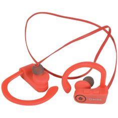 AV:link  Sporty In-Ear Bluetooth sluchátka, voděodolná, červená