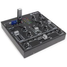 Skytec Skytec STM-2250, 2-kanálový mixpult s MP3
