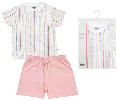 Jacky piżama dziewczęca 86 - 92 różowa