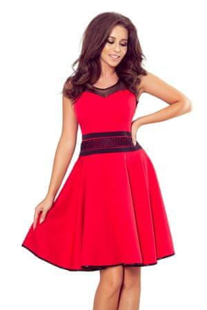 Numoco Női ruha 261-1, piros, S