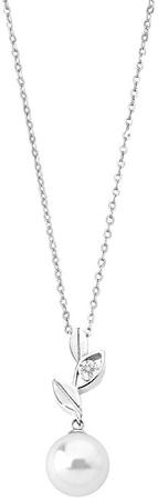 Majorica Ezüst nyaklánc gyöngyvel és levelekkel 12849.01.2.000.010.1 (lánc, medál) ezüst 925/1000