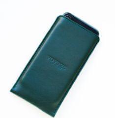 Voyage Kožený obal na iPhone Xs, Xr, Xs Max // PELTA (Green)