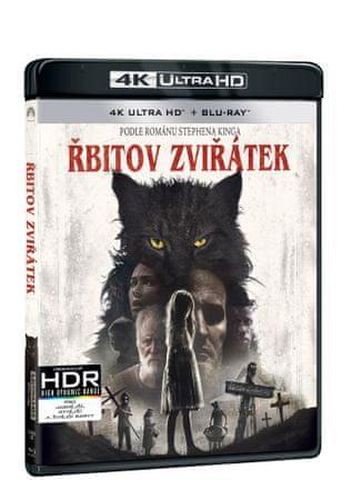 Řbitov zviřátek (2 disky) - Blu-ray + 4K Ultra HD