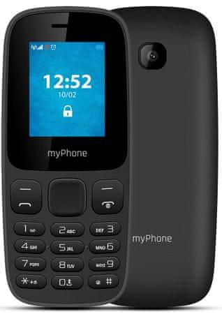 myPhone telefon komórkowy 3330, czarny