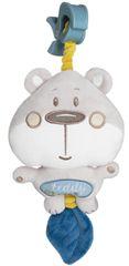 Canpol babies pluszowa pozytywka Pastel Friends szary niedźwiadek