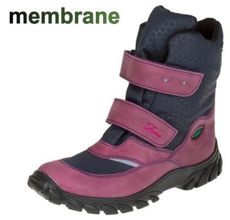 Fare dekliški zimski čevlji 2646194, 36, roza