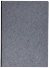 Clairefontaine zvezek s trdo vezavo Age Bag A4, karo, 96 listov, siv